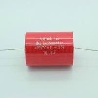 2PCS Audiophiler MKP Capacitor 10uf 400VDC audio grade AXIAL For Tube Guitar Amplifier
