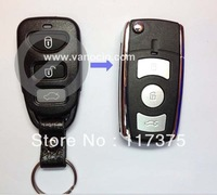 Kia Cerato 4 button ( 3 +1) modified folding remote key cover shell