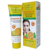 AICHUN Vitamin C treatment & whitening exfoliating cream Peeling Gel face and body 100g/pcs