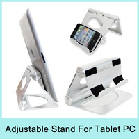 Aluminium Metal Desk Stand Holder Mount for Apple iPad iPad 2 iPad3 iPad mini Tablet PC Universal Stand Drop Shipping