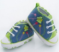 Free shipping 2013 Girls baby butterfly toddler shoes kids footwear first walkers pink children footwear 11cm 12cm 13cm