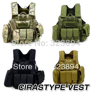 Wargame Airsoft Paintball Tactical Vest(China (Mainland))