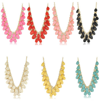 Free Shipping Handmade Top Quality Exquisite Fashion Statement Necklace Jewelry N1425