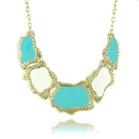 Free Shipping Handmade Top Quality Exquisite Fashion Statement Necklace Jewelry N1383