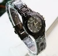 2013 korea  women and ladies fashion designer top brand bracelet  black watch wristwatch luxury watch free shipping