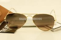 HOT Selling brand rb aviator sunglasses unisex rb3025 dark pink lens men women fashion sunglasses popular design 58mm