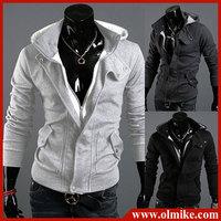 FREE SHIP New coats men outwear Mens Special Hoodie Jacket Coat men clothes cardigan style jacket size /M L XL XXL XXXL/  C222