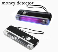 FREE SHIPPING high quality handheld backlight money detector UV lamp portable pocket bill detector