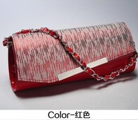 Women's evening bag day clutch chain bride handbag one shoulder female Bags FREE SHIPMENT