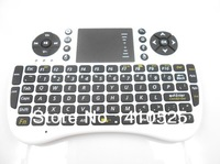 2.4G Mini wireless keyboard UKB-500-RF with TouchPad built in Li battery, for mini pc android tv box