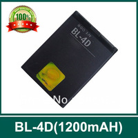 Free shipping !BL-4D  mobile battery  for NKA N8 E7 E5 N97, 1200mAh ,3.7V,2 pcs