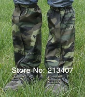 Waterproof Outdoor Hiking Walking Climbing Hunting Snow Legging Gaiters  disruptive pattern