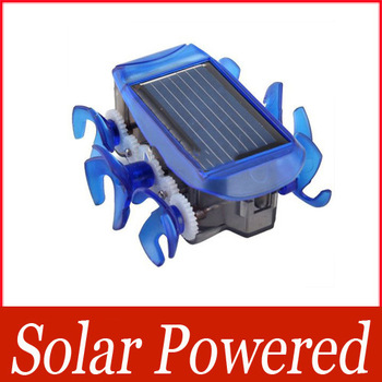 Fashion Mini Solar Powered Bionic Rover Solar Energy-saving Car Education Toys