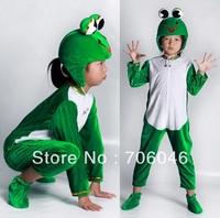 Good quality kids animal design costume,cartoon costume, frog costume,Free shipping