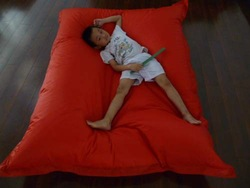 420D oxford PVC,180*140cm outdoor bean bag, bean bag chair,bean bag lounger, bean bag cover,7color in stocks,1pc(China (Mainland))
