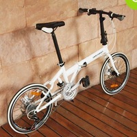 HACHIKO 20-inch 21-speed, dual disc brakes, folding bicycles