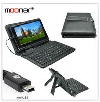 Hot Sale Universal Mini USB Keyboard Cover Case For 7 inch Tablet PC Black DA0092 -30#S3