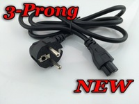 Brand New Laptop Adapter 3-Prong AC Power Cord cable lead Adapter EU Plug AC Power Cord