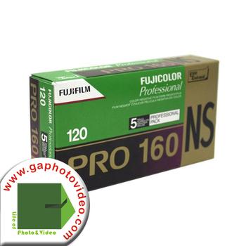 Fuji Fujicolor PRO 160NS Film Medium Format Camera Color Prints 5x