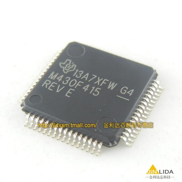 MSP430F415IPMR M430F415 controller and 16 k flash original(China (Mainland))