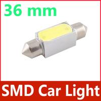 2 X SMD Car Light 36mm 1.5W 135LM White Bulb Dome Interior Festoon #4