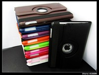 360 Degree Rotating Leather Case Cover Smart Stand Magnet For Apple iPadmini