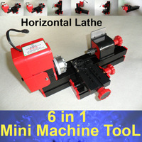DIY Mini Lathe Machine Tool 6 in 1 For Wood and Soft Metal