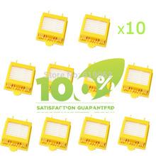 10 stück Ersatz-Filter für irobot roomba 700-Serie 760 770 780 790 staubsauger hepa-filter(China (Mainland))