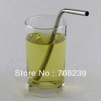 100PCS TL0022 free shipping stainless steel drinking straw