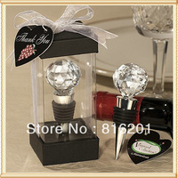 Wedding Souvenirs Gift Crystal Ball Wine Bottle Stoppers
