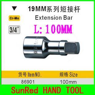 Гаечный ключ BESTIR L:100 19 3/4 dr.extension , no.86901 ключ торцевой vorel l типа 17мм