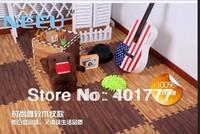 10piece/pack Top EVA puzzle mat foam blocks carpet hello kitty cat/flower more style