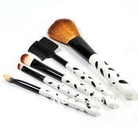 Free shipping 5 Pcs Professional Make up Brush Cosmetic Brushes Spots