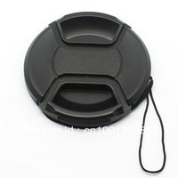 Free Shipping + Tracking Number 55mm Snap-on Front Lens Cap Cover for Canon Nikon Olympus Sony Pentax Sigma Lens