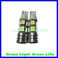 100pcs/lot free shipping car width indicator light, auto dashboard light, auto door light, trunk lamp,T10 8SMD+1W