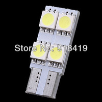 Free shipping 2X Canbus No Error Light Lamp Bulb 12V T10 194 501 W5W 4 SMD 5050 Led White Car