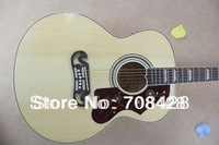 free shipping 43 inches jumbo guitar sj200 fishman eq wholesale acoustic guitar in stock natual color acoustic guitar preamp
