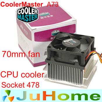 70mm fan Intel Socket 478 Pentium4 Celeron-D,cpu radiator,cooling fan,CPU Fan CoolerMaster A73 wholesale