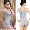 Women sexy corset shaper magic slimming suit body building underwear ladies shapewear print flower wear Free Shipping