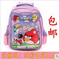 Free shipping In schoolbag boys and girls shoulder bag cartoon schoolbag 4-color