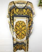 Freeshipping Short Sleeve Novelty Geometric Dots Stripes Vintage  Plus Size Mini Blouse Dress B8815  Print Dress Bodycon