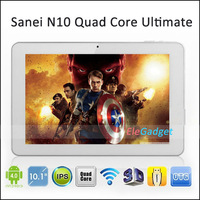 10 inch Android 4.1Tablet Sanei N10 Quad Core Ultimate A31 IPS Capacitive Screen Tablet PC 2GB 16GB WIFI Camera