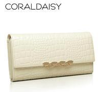 Wallet female 2014 pattern women's wallet cowhide long design wallet womens purses