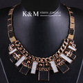 K&M---Wonderful design chain handmade PUNK necklace NK-00910, Free Shipping