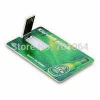 Free DHL shipping: 200pcs X 512Mb Credit card usb flash drive with 2sides full color logo printing flash pendrive