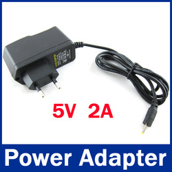 5V 2A DC 2.5mm Eu Plug Converter Charger Power Supply Adapter for android tablet pc charger(China (Mainland))