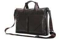 Leather handbag Business Computer bag Fashion style Briefcases Danjue M3815-1