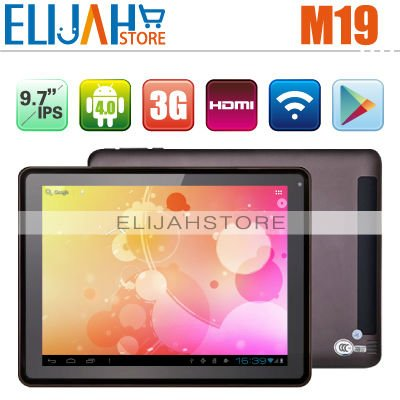 "Original Aoson M19 3G Tablet PC 9.7"" IPS Capacitive 1G ram 16g storage Dual Core RK3066 Webcam Bluetooth HDMI tablet pc MID(China (Mainland))"
