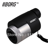 Borg B825 TOP-Quality 8 X 25 HD Waterproof  monocular telescope,night vision,bird mirroring ,free shipping