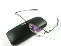 Free shipping 2013 Newl brand designer frames for glasses titanium semi rimless glass frames men fashion Optical eyeglasses